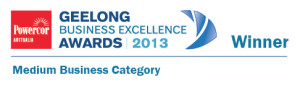 Geelong Business Excellence Awards 2013 Winner Medium Business